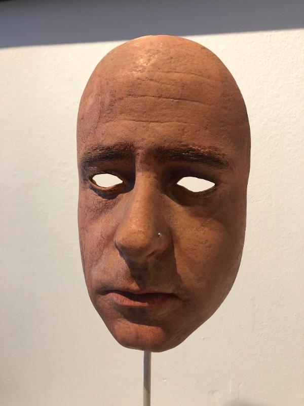 Mask (self portrait)