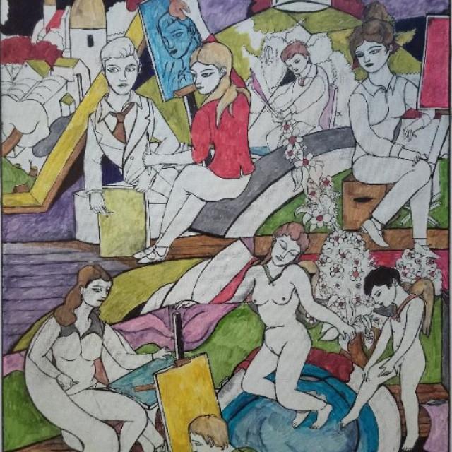 Glasgow School of Art the 1980s