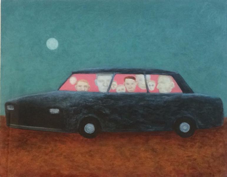 Moonlit Car