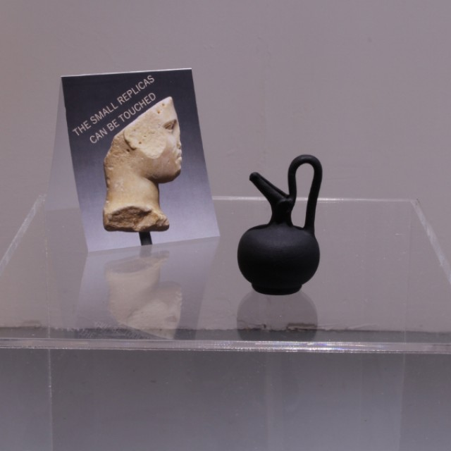 Black plastic 3D print