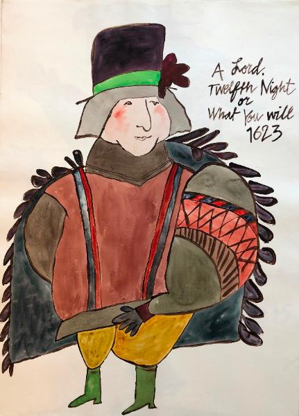 A Lord, Twelfth Night
