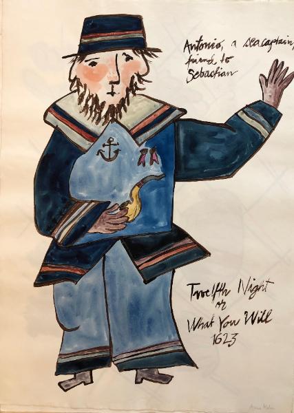 Antonio, a Seacaptain, Twelfth Night