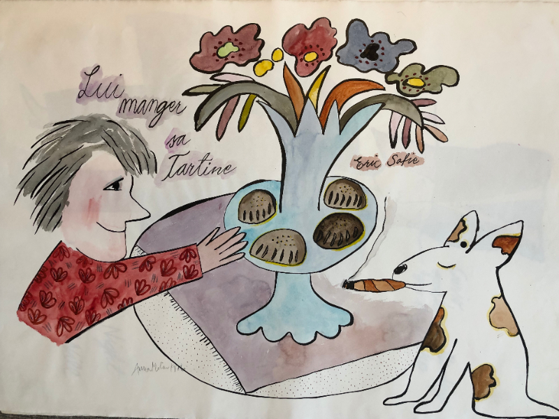Lui Manger sa Tartine (Eric Satie)