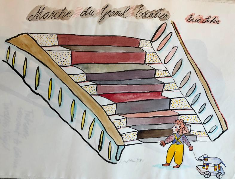 Marche du Grand Escalier