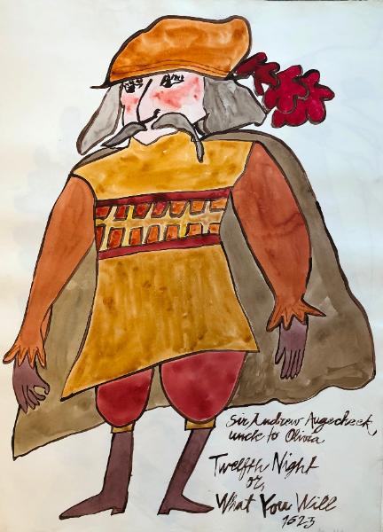Sir Andrew Augecheek, Twelfth Night