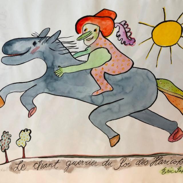 Le chant guerrier du Roi des Haricots (Eric Satie) 1976