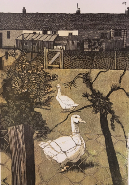 Back Garden Geese (sold)