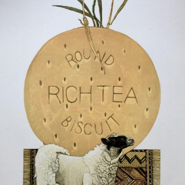 Round Rich T Biscuit