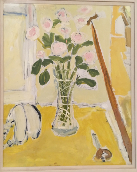 Gaff with Pale Roses