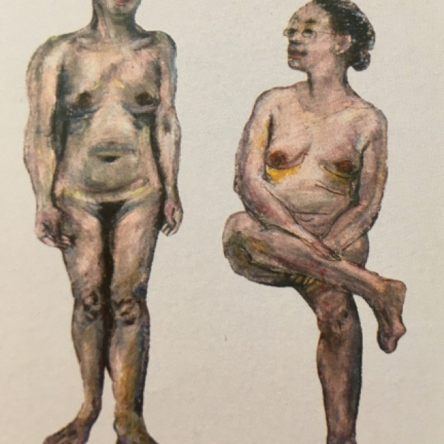 Nude Standing and Nude Sitting