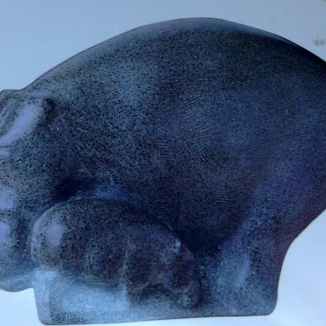 Big Hippo calf