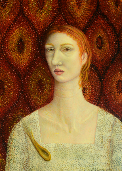 Woman with Brooch