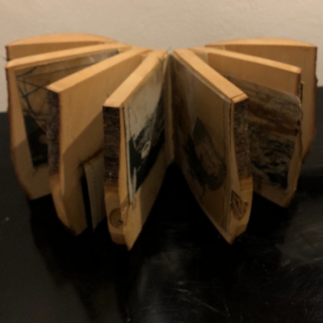 Wooden Artists Book