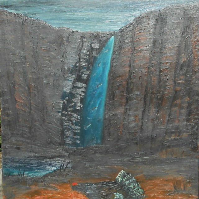 Capercaillie Waterfall
