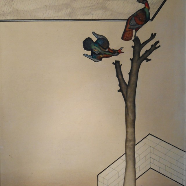 Two Exotic Birds, c. 1960s