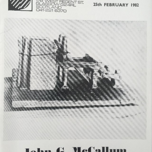 John G McCallum Sculpture and Drawings