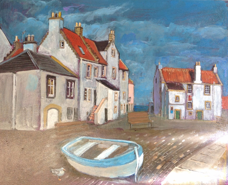 House and Boat, Pittenweem