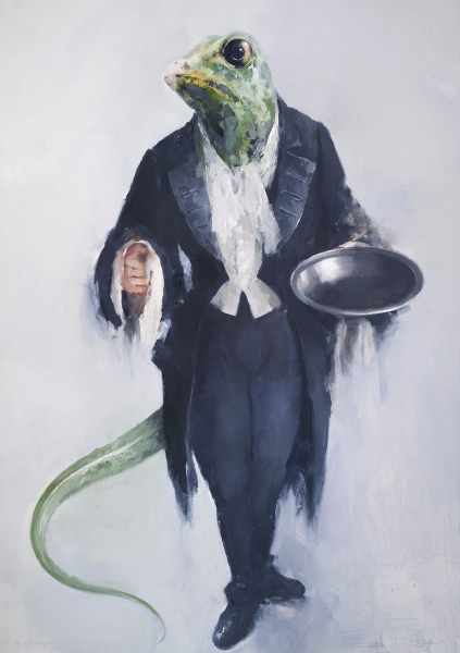 Lizard Footman, Cinderella