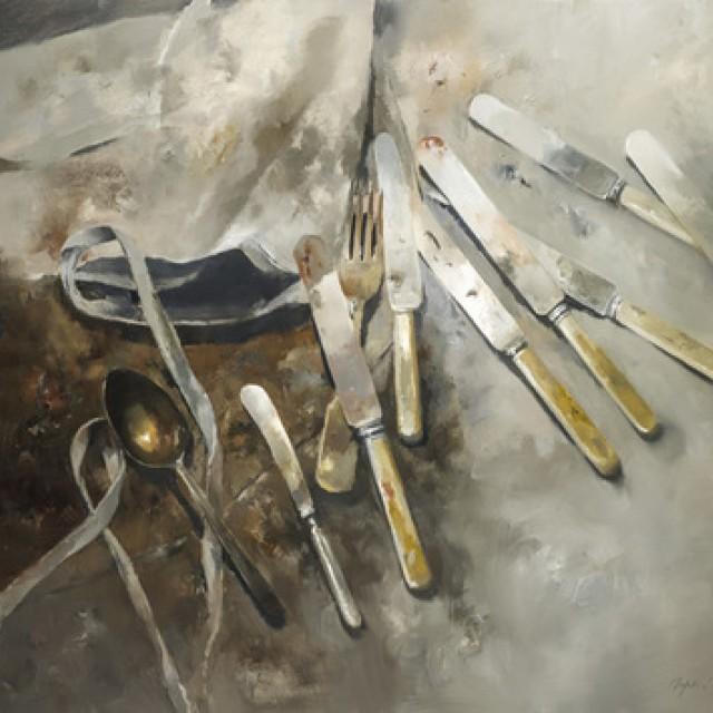 Knives and Apron No.1