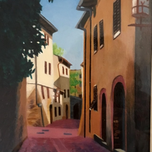Via San Martino Sangimignano £600