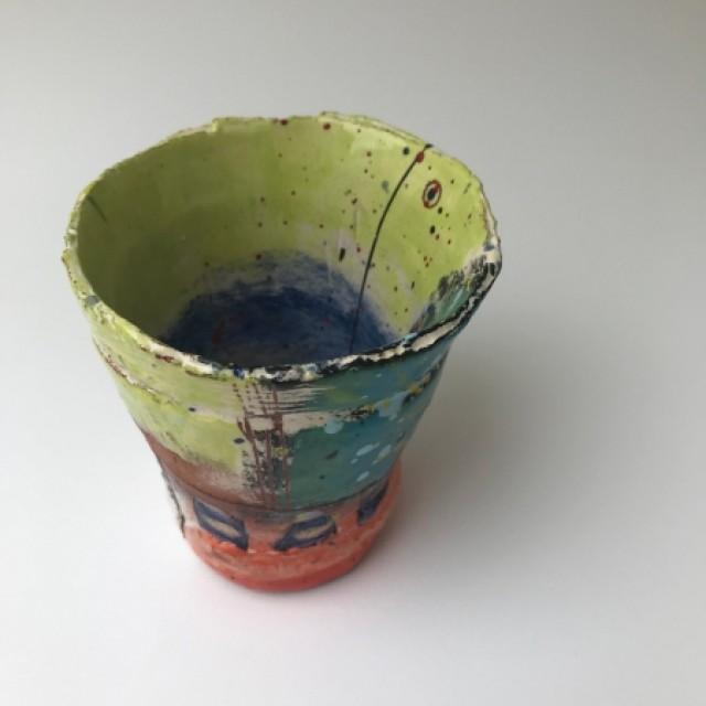 Little beaker, St Ives mid-century influenced
