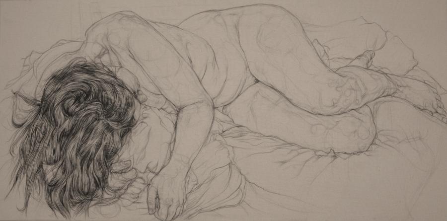 Jenny Lying, Pillow