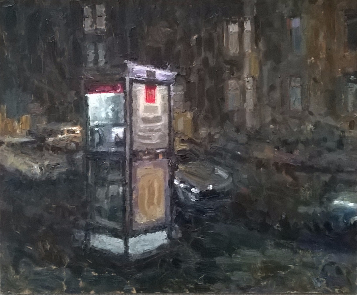 Phone Box, Cathcart Road