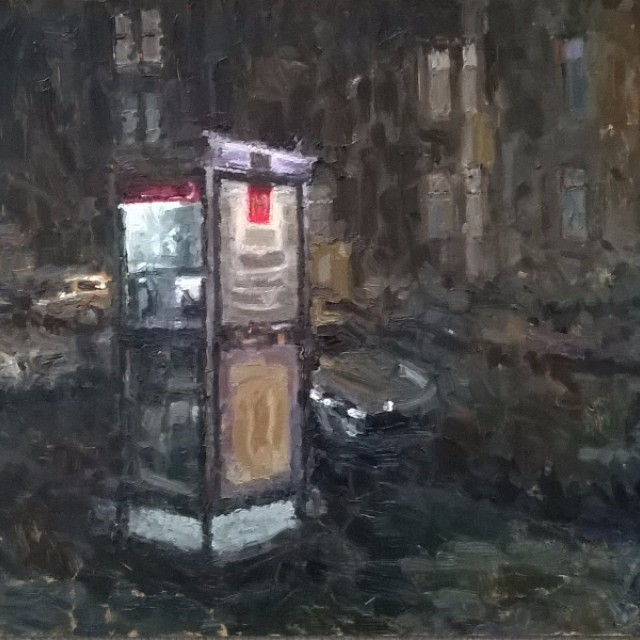 Phone Box, Cathcart Road