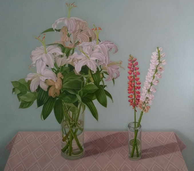 Lillies and Lupins