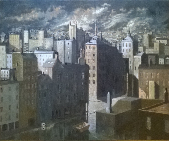 Frans Masereel: A Northern European City