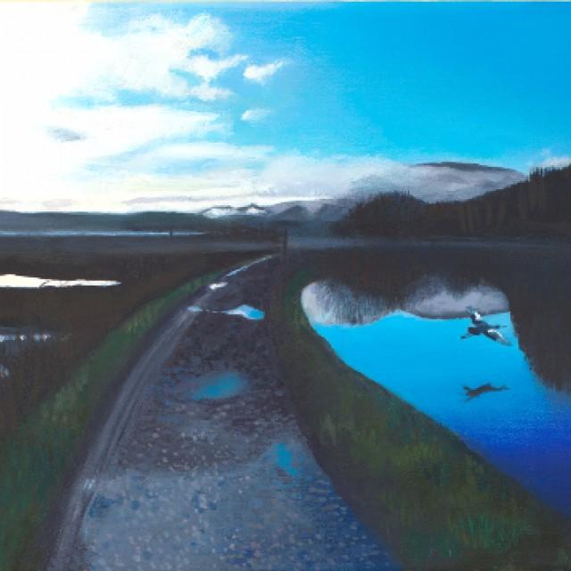 Crinan Canal, Dawn
