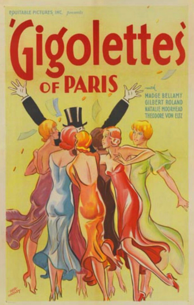Gigolettes of Paris, 1933, US