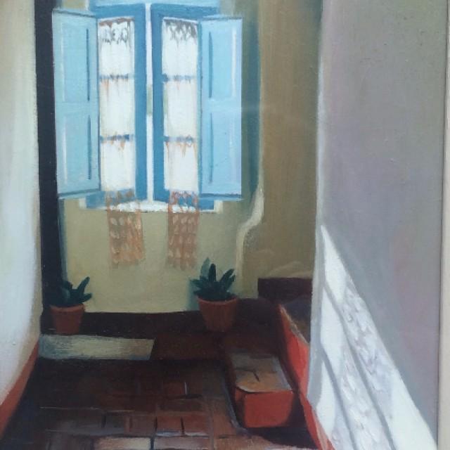 San Gimingnano Window