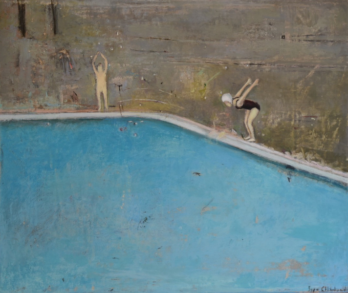 Grey Swimming Pool