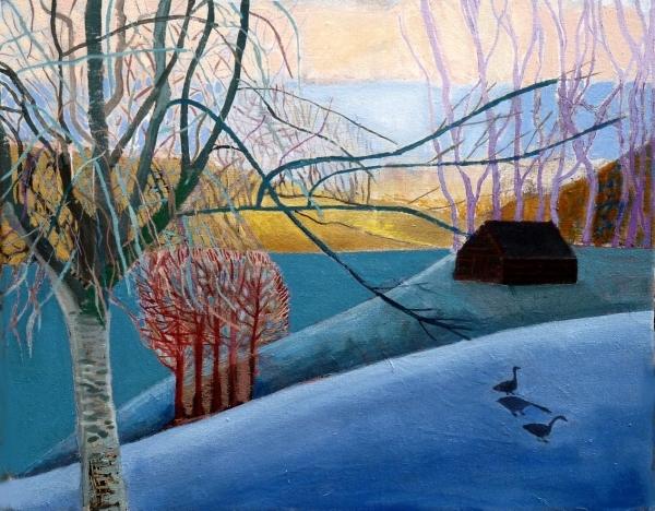 Blue Landscape i