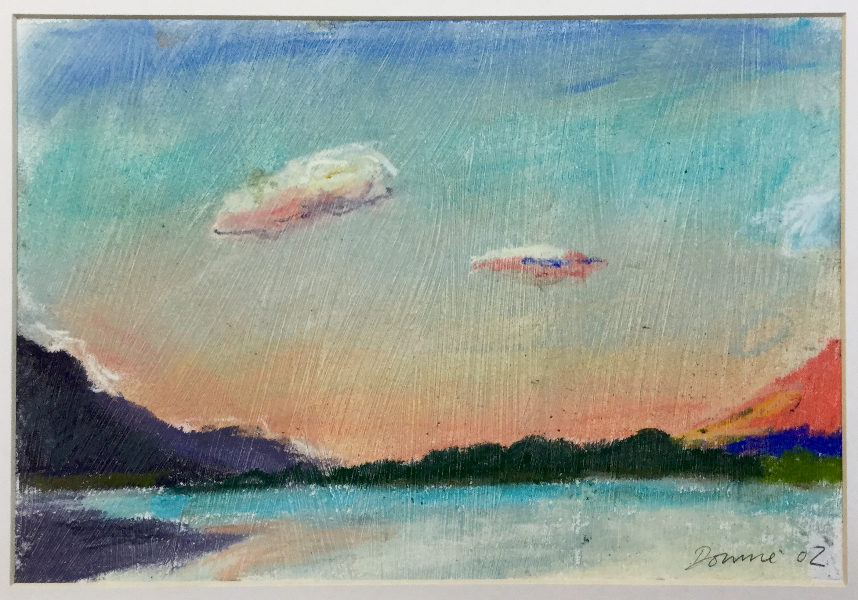 Sunset on Loch Lochy, Day Two