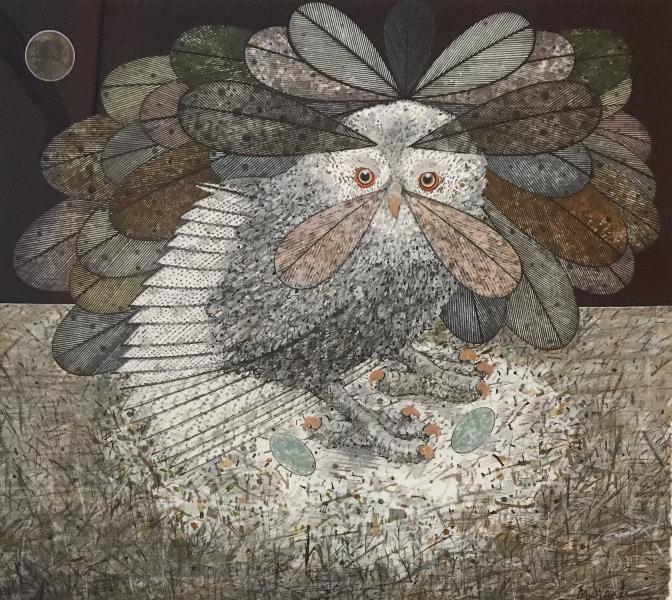 Scottish Owl for Megan Boyd