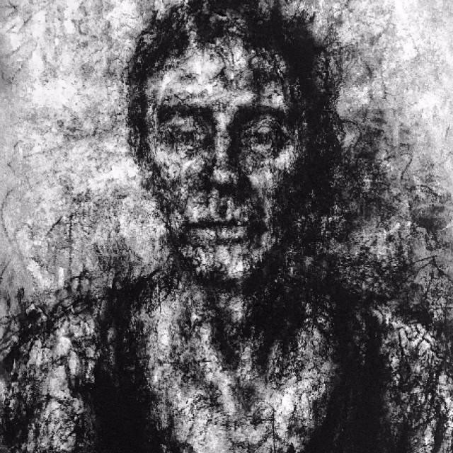 Portrait with black vest