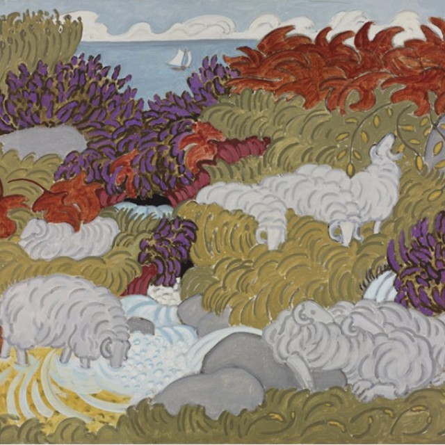 Sheep & Heather 4, 1991