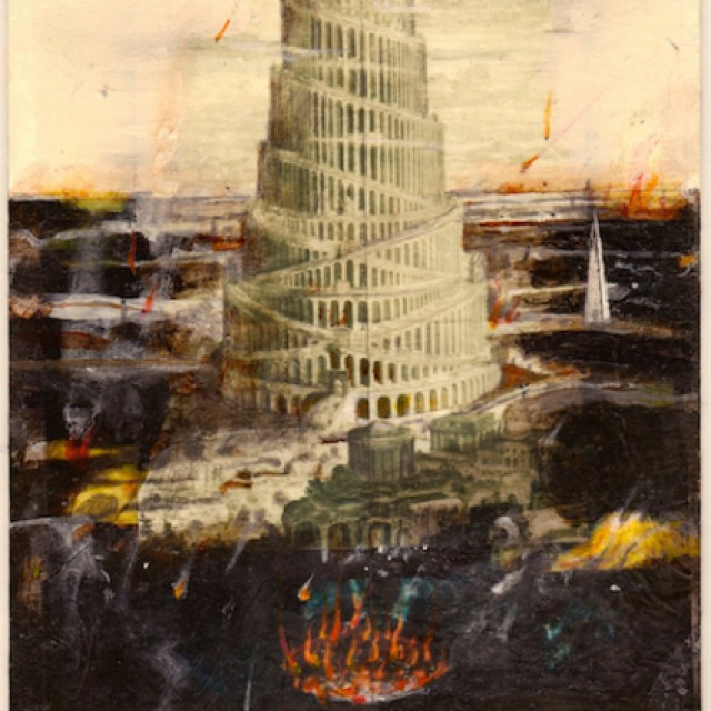 Babel in Flames