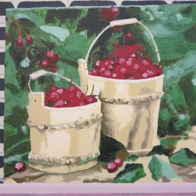 Cherry Bucket £120
