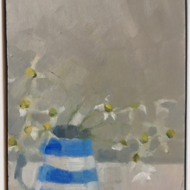 Sea Chamomile and Cornish Blue £850