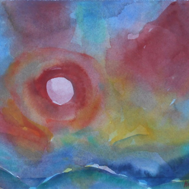 Sun Over the Dunes Gullane