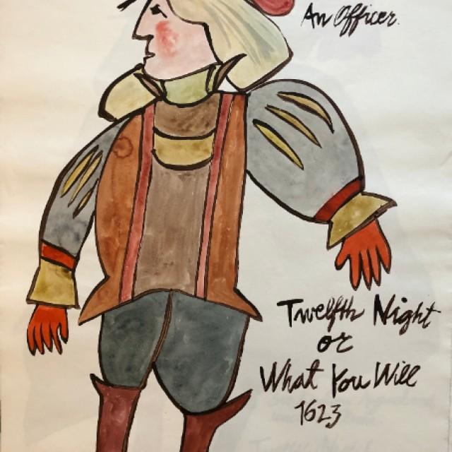 An Officer, Twelfth Night