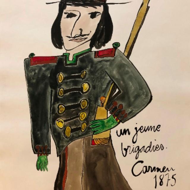 Un Jeune Brigadier, Carmen 1875
