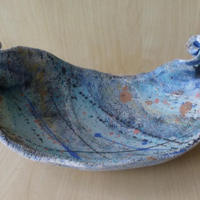 Blue Splash Wave Plate