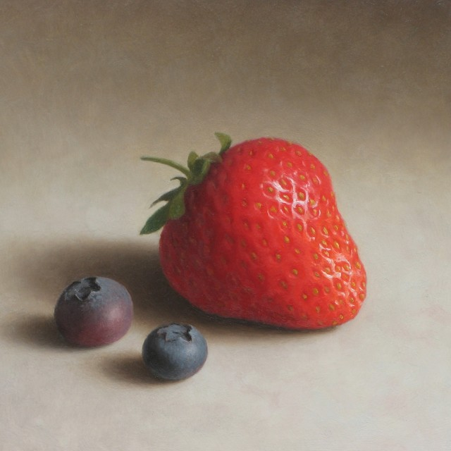 Strawberry and Blackcurrants