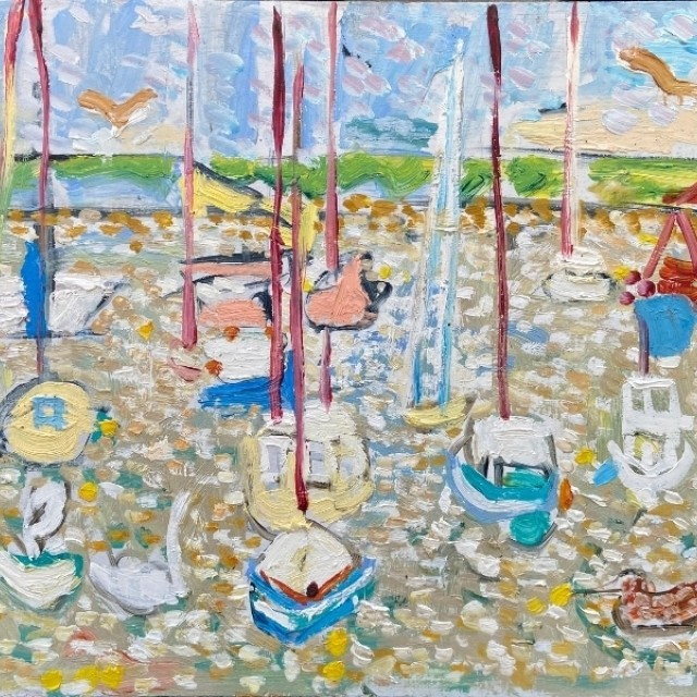 Boats in Courtown, 2020