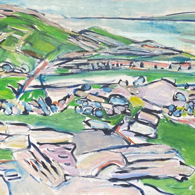 The Sea, The Burren, Co. Clare, 1993
