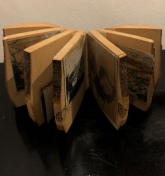 Wooden Artists Book